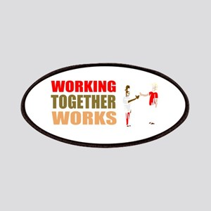Motivational work business Patch