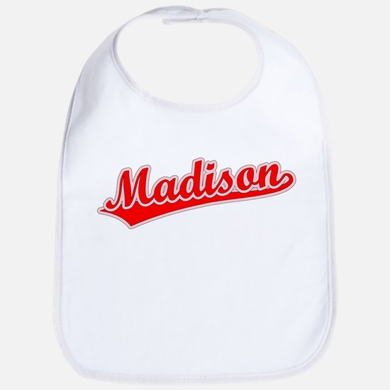 Retro Madison (Red) Bib