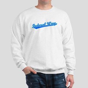 Retro Federal Way (Blue) Sweatshirt