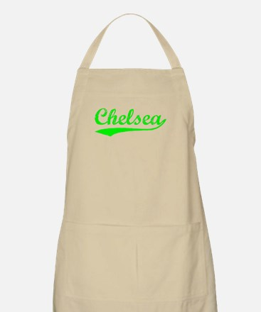 Vintage Chelsea (Green) BBQ Apron