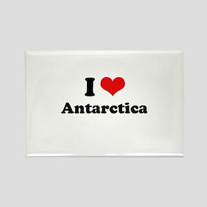 I love Antarctica Rectangle Magnet