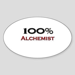 100 Percent Alchemist Oval Sticker