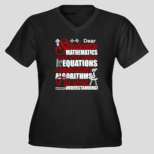 Dear Students Mathematics T Shir Plus Size T-Shirt