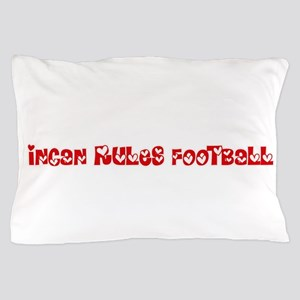 Incan Rules Football Heart Design Pillow Case