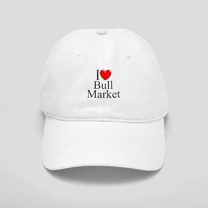 """""""I Love (Heart) Bull Market"""" Cap"""