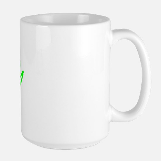 Vintage Chico (Green) Large Mug