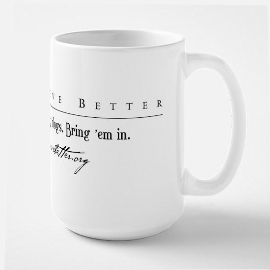 DDB Text Tee Large Mug