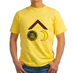 The three lesser lights No. 1 Yellow T-Shirt