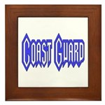 Coast Guard Framed Tile