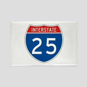 Interstate 25, USA Rectangle Magnet