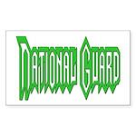 National Guard Rectangle Sticker