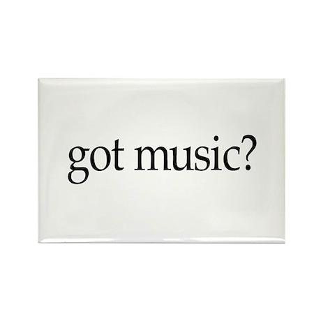got music? Rectangle Magnet (100 pack)