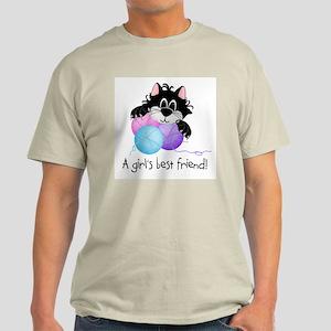 Girl's Best Friend Light T-Shirt