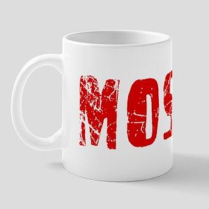 Moshe Faded (Red) Mug