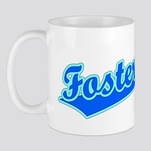 Retro Foster City (Blue) Mug