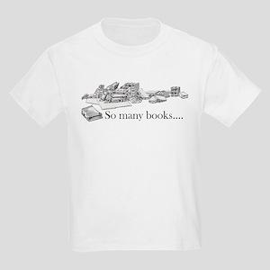 So many books Kids T-Shirt