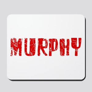 Murphy Faded (Red) Mousepad