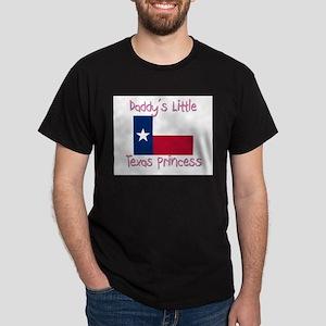 Daddy's little Texas Princess Dark T-Shirt