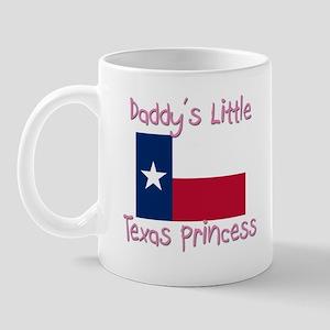 Daddy's little Texas Princess Mug