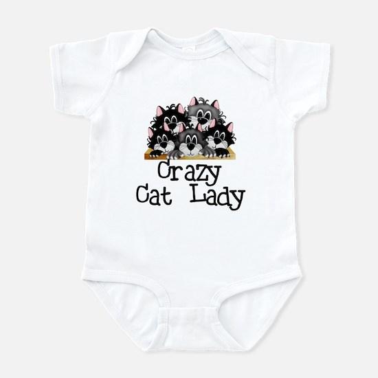 Crazy Cat Lady Infant Bodysuit