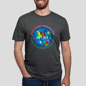 World Autism Awareness Day Mens Tri-blend T-Shirt