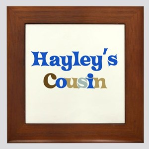 Hayley's Cousin Framed Tile