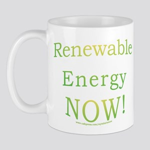 Renewable Energy NOW! Mug