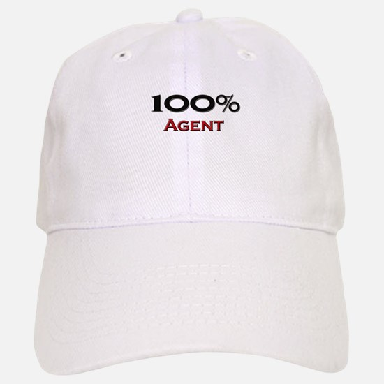 100 Percent Agent Baseball Baseball Cap