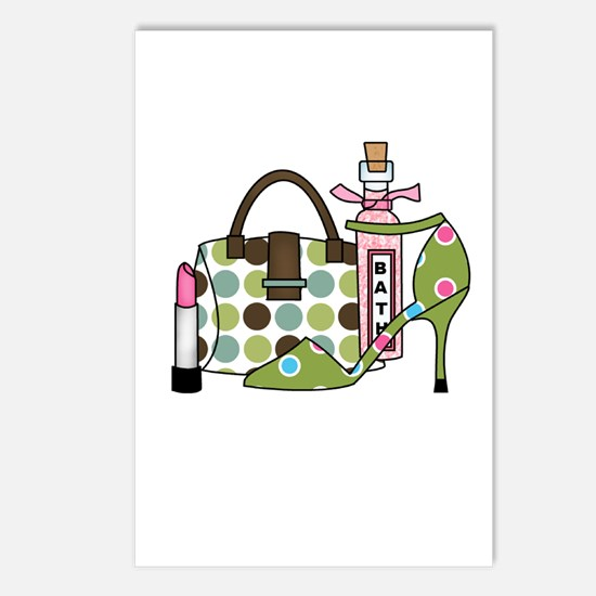 Bags and Heels Postcards (Package of 8)