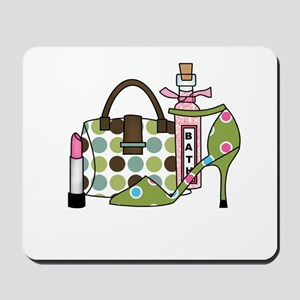 Bags and Heels Mousepad