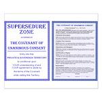 Supersedure & Covenant Small Poster