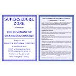 Supersedure & Covenant Large Poster