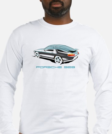porsche 928 Long Sleeve T-Shirt