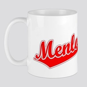 Retro Menlo Park (Red) Mug