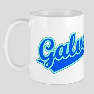 Retro Galveston (Blue) Mug
