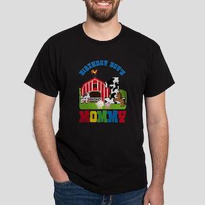 Farm Birthday Boys Mommy T Shirt