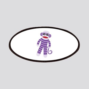 Purple Sock Monkey Patch