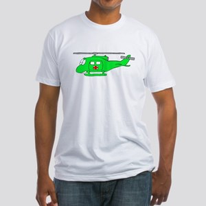 UH-1 Green Fitted T-Shirt