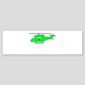 UH-1 Green Bumper Sticker