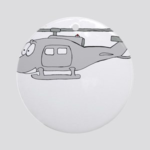 UH-1 Gray Ornament (Round)