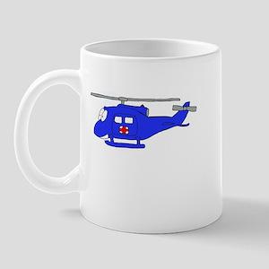 UH-1 Blue Mug