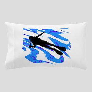 SCUBA TIME NOW Pillow Case
