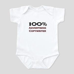 100 Percent Advertising Copywriter Infant Bodysuit