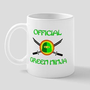 Official Green Ninja Mug