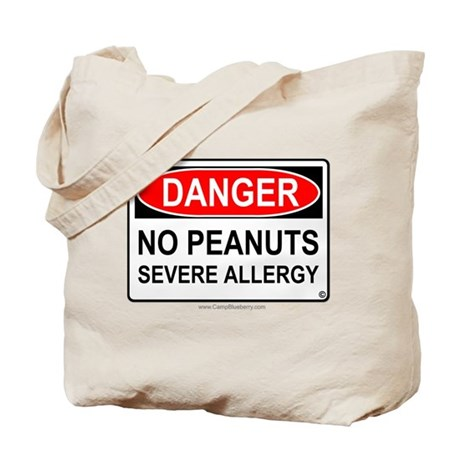No Peanuts-Severe Allergy Tote Bag