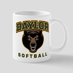 Baylor Bears Softball 11 oz Ceramic Mug