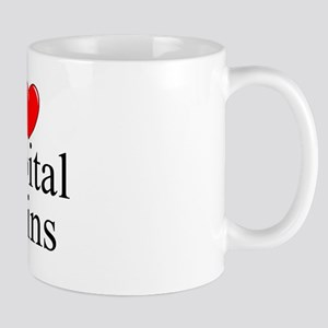 """I Love (Heart) Capital Gains"" Mug"