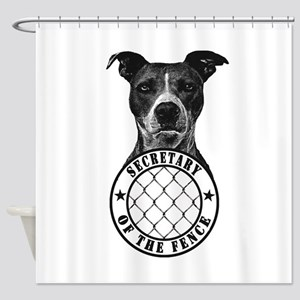 secretary of the fence Shower Curtain