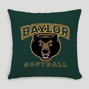 Baylor Bears Softball Everyday Pillow