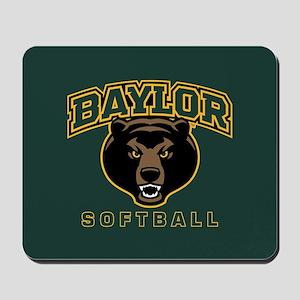 Baylor Bears Softball Mousepad